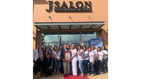 Wilk honors J Salon Studios and Spa as Small Business of the Month