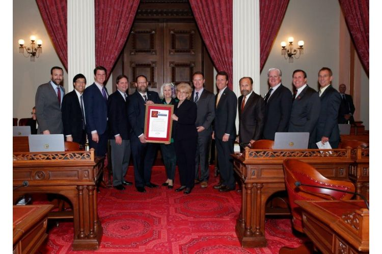 Wilk joins colleagues in recognizing contributions of aerospace industry