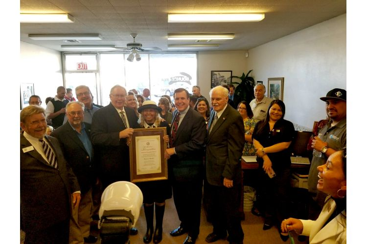 Senator Scott Wilk selects Bounce Realty as Small Business of the Month