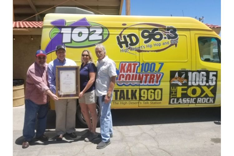 Wilk and Obernolte honor El Dorado Broadcasters as Small Business of the Month