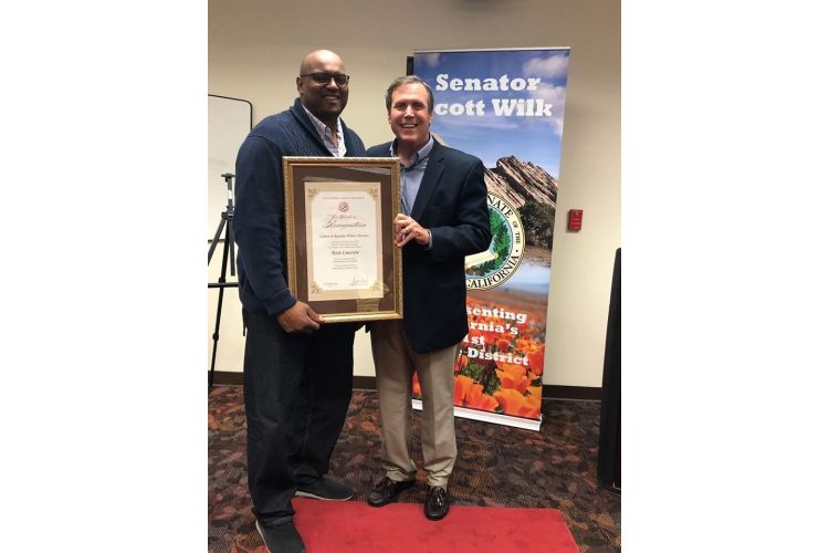 Kick Concrete honored as Wilk's Small Business of the Month