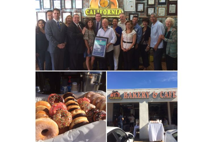Wilk honors California Bakery & Cafe as Small Business of the Month