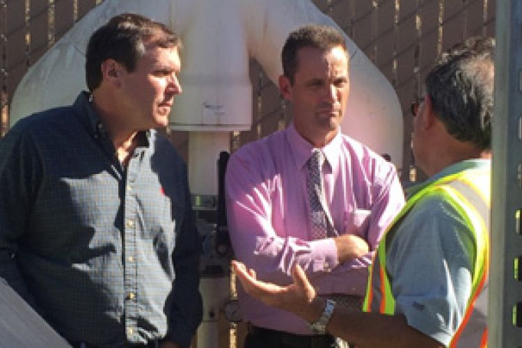 Tour of contaminated Whittaker-Bermite meant to educate officials