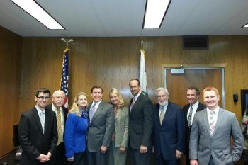 College of the Canyons Board Members Visit Assemblyman Wilk's Capitol Office