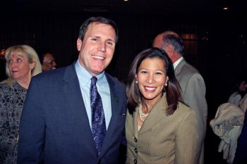 Assemblyman Wilk and Chief Justice Tani G. Cantil-Sakauye
