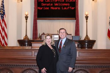 Marlee Means Lauffer, the 21st Senate District's Woman of the Year