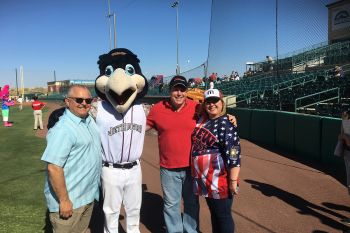 Legislators host a pre-game event for local AV Youth at JetHawks Home Stadium