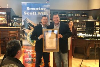 Wilk honors Rio Brazilian Grill as his Small Business of the Month